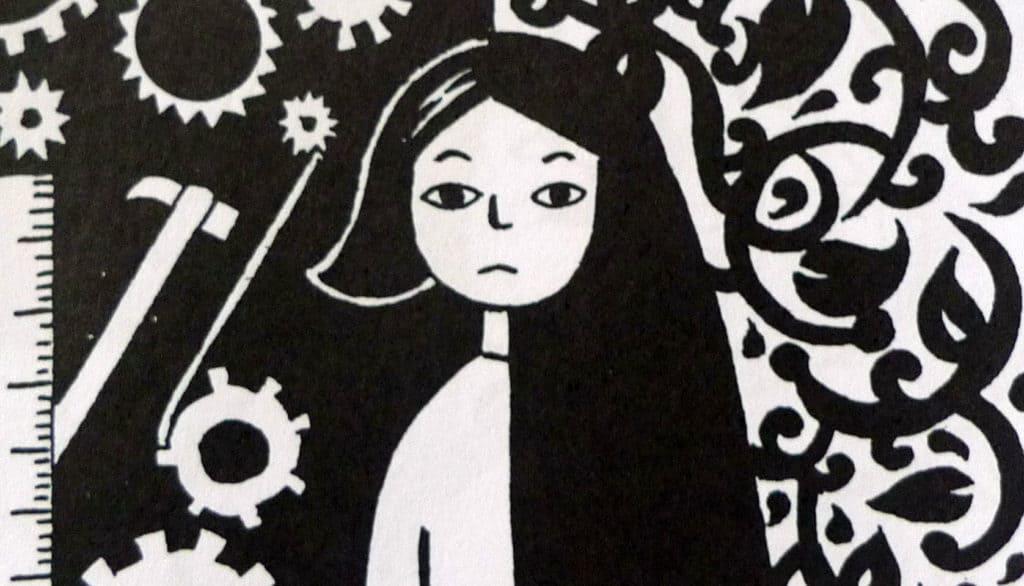 Persépolis, história em quadrinhos de Marjane Satrapi.